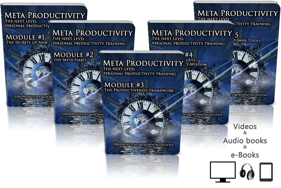 Meta Productivity personal productivity training