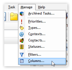 Manage Columns in Swift To-Do List