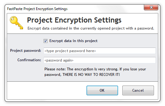 Encryption of FastPaste Project
