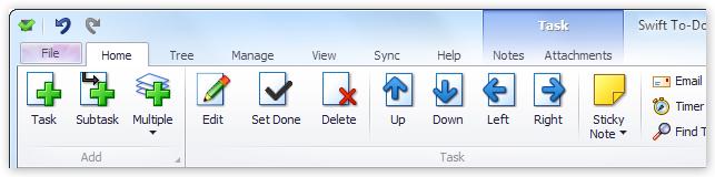 Swift To-Do List 9 - a modern organizer with a ribbon