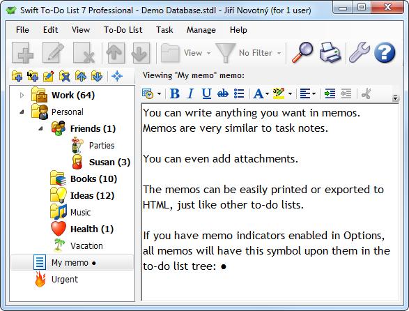 Memo - Manage notes with memos