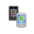 Mobile to-do list and tablet to-do list access both for tasks and notes via cloud